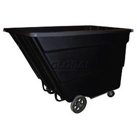 Bayhead Products Black Medium Duty 2.2 Cubic Yard Tilt Truck 2200 Lb. Capacity