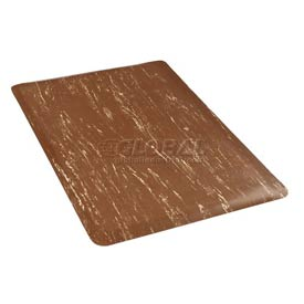 Marbleized Top 36 Inch Wide Mat Brown