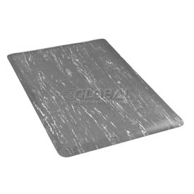 Marbleized Top 36 Inch Wide Mat Gray