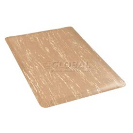 Marbleized Top 48 Inch Wide Mat Sandalwood