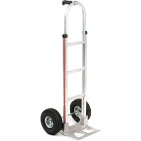 Magliner® Aluminum Hand Truck Pin Handle Pneumatic Wheels