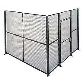 Husky Rack & Wire EZ Wire Mesh Partition Component Panel 10'Wx8'H