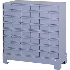 "Durham Steel Drawer Cabinet 017-95 - With 48 Drawers 34-1/8""W x 12-1/4""D x 33-3/4""H"