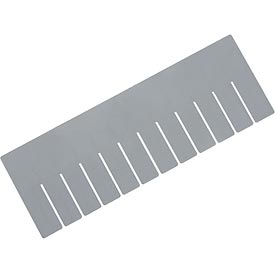 Length Divider DL92060 for Plastic Dividable Grid Container DG92060, Price for Pack of 6