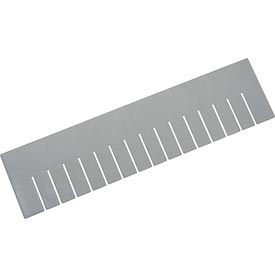 Length Divider DL93060 for Plastic Dividable Grid Container DG93060, Price for Pack of 6