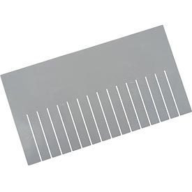 Length Divider DL93120 for Plastic Dividable Grid Container DG93120, Price for Pack of 6