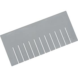 Width Divider DS93080 for Plastic Dividable Grid Container DG93080, Price for Pack of 6