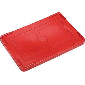 "Lid COV92000 for Plastic Dividable Grid Container, 16-1/2""L x 10-7/8""W, Red - Pkg Qty 4"