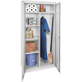 Sandusky Elite Series Combination Storage Cabinet EACR361878 - 36x18x78, Gray