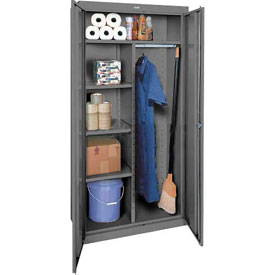 Sandusky Elite Series Combination Storage Cabinet EACR362472 - 36x24x72, Charcoal
