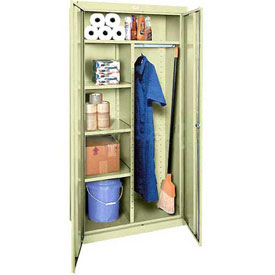Sandusky Elite Series Combination Storage Cabinet EACR362472 - 36x24x72, Putty