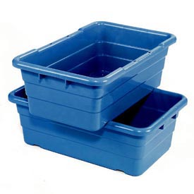 Cross Stack Nest Tote Tub TUB2516-8 -  25-1/8 x 16 x 8-1/2 Blue - Pkg Qty 6