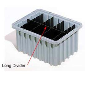 Akro-Mils Long Divider 42224 For Akro-Grids Dividable Grid Containers 33224 Pack Of 6