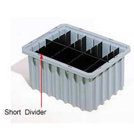 Akro-Mils Short Divider 41226 For Akro-Grids Dividable Grid Containers 33226 Pack Of 6