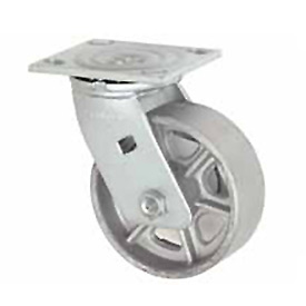 "Faultless Swivel Plate Caster 1406-6 6"" Steel Wheel"