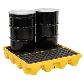 Eagle 1645 4 Drum Low Profile Spill Containment Pallet