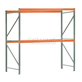 "Interlake Mecalux Pallet Rack Tear Drop Starter 120""W x 42""D x 96""H"