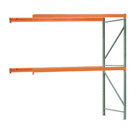 "Interlake Mecalux Pallet Rack Tear Drop Add-On 96""W x 42""D x 96""H"