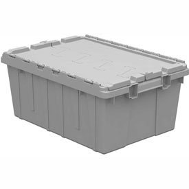 Buckhorn Attached Lid Container AC2115090201000 - 21-1/2x15-1/4x9-5/8 - Pkg Qty 6
