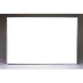 "Ghent 96"" x 48""H Whiteboard with Aluminum Frame - Non-Magnetic - Includes Marker/Eraser - USA Made"