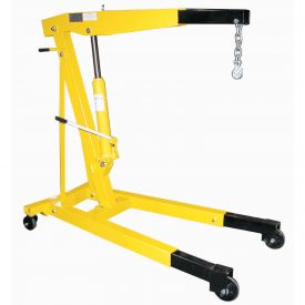 Vestil Floor Crane with Telescopic Boom EHN-60-T 6000 Lb. Capacity