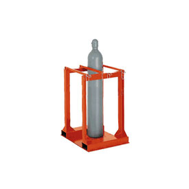 Cylinder Storage Forkliftable Caddy