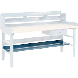Lower Shelf Blue 72 Inch