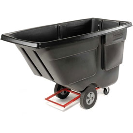Rubbermaid® 1314 Utility Duty 1 Cu. Yard Tilt Truck
