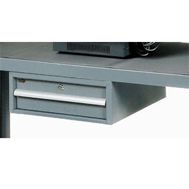 Utility Drawer for Two Shelf Heavy Duty Steel Service Carts