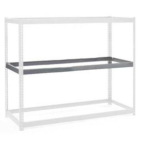 "Additional Level For Wide Span Rack 48""W x 24""D No Deck 1200 Lb Capacity"