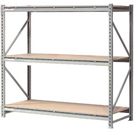 "Extra High Capacity Bulk Rack With Wood Decking 96""W x 48""D x 120""H Starter"