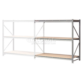 "Extra High Capacity Bulk Rack With Wood Decking 72""W x 24""D x 120""H Add-On"