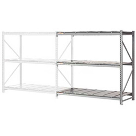 "Extra High Capacity Bulk Rack With Steel Decking 72""W x 24""D x 96""H Add-On"