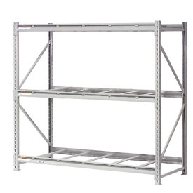 "Extra High Capacity Bulk Rack Without Decking 96""W x 48""D x 96""H Starter"