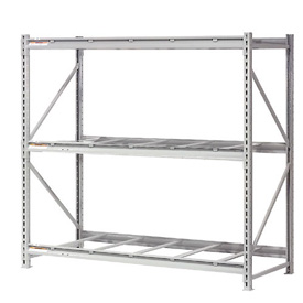 "Extra High Capacity Bulk Rack Without Decking 72""W x 48""D x 120""H Starter"