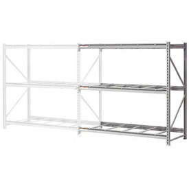 "Extra High Capacity Bulk Rack Without Decking 72""W x 24""D x 120""H Add-On"