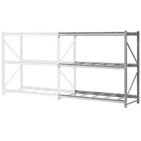 "Extra High Capacity Bulk Rack Without Decking 72""W x 36""D x 120""H Add-On"