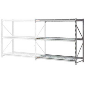 "Extra High Capacity Bulk Rack With Wire Decking 72""W x 48""D x 96""H Add-On"