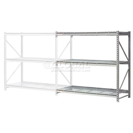 "Extra High Capacity Bulk Rack With Wire Decking 60""W x 48""D x 120""H Add-On"