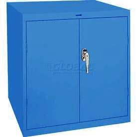 Sandusky Elite Series Desk Height Storage Cabinet EA11361830 - 36x18x30, Blue