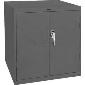 Sandusky Elite Series Desk Height Storage Cabinet EA11361830 - 36x18x30, Charcoal