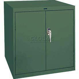 Sandusky Elite Series Desk Height Storage Cabinet EA11361830 - 36x18x30, Green