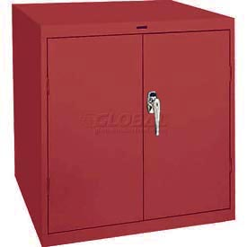 Sandusky Elite Series Desk Height Storage Cabinet EA11361830 - 36x18x30, Red