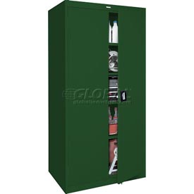 Sandusky Elite Series Storage Cabinet EA4R361872 - 36x18x72, Green