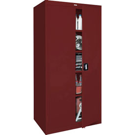 Sandusky Elite Series Storage Cabinet EA4R361872 - 36x18x72, Red