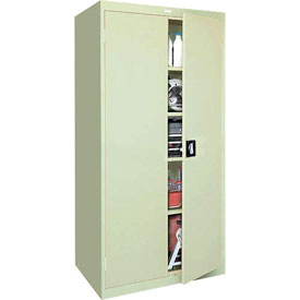 Sandusky Elite Series Storage Cabinet EA4R361878 - 36x18x78, Putty