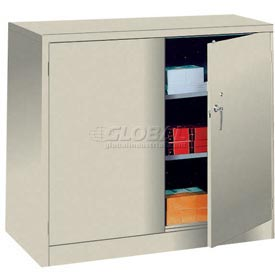 Lyon Storage Cabinet PP1042 Counter Height 36x18x42 - Putty