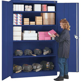 Lyon Storage Cabinet PP1031  - 48x24x78 - Putty