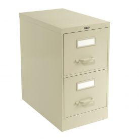 Global™ Vertical File Letter Size 2 Drawer, Desert Putty