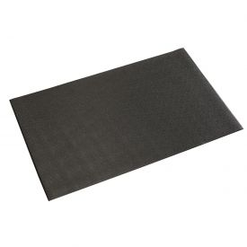 Pebble Surface Mat Black 24 Inches Wide